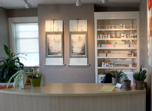 Front Desk Inside the Office of Trillium Natural Medicine