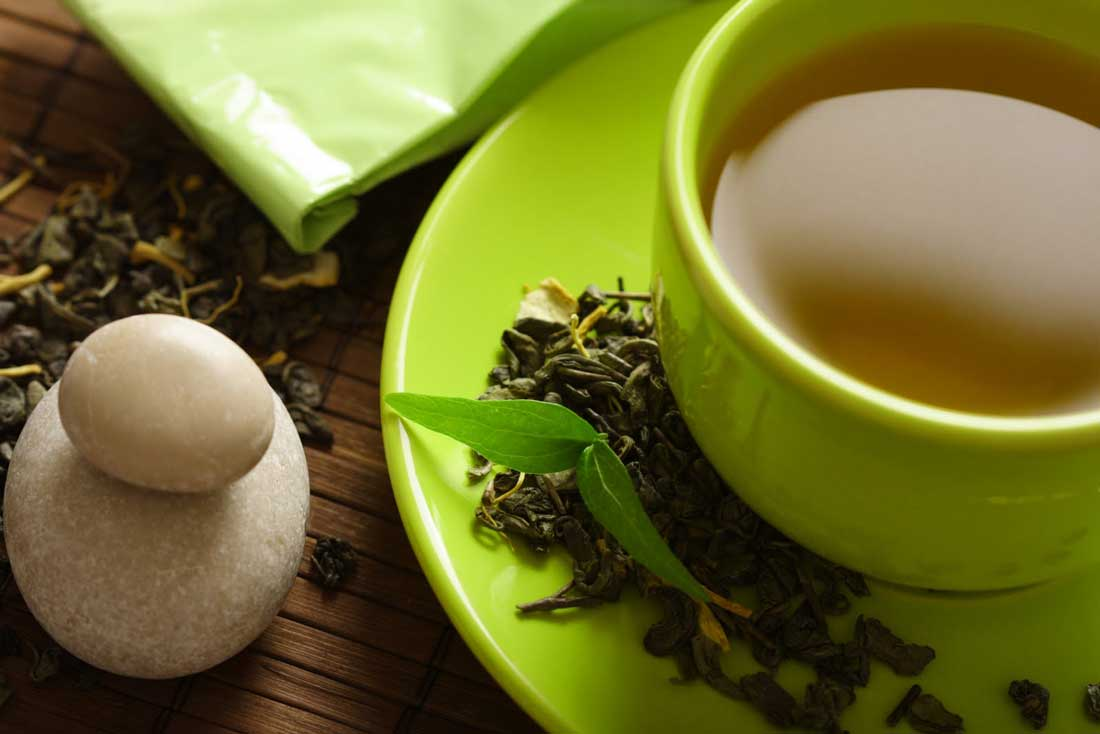 Green Tea can reduce oxidative stress that is caused by BPA.